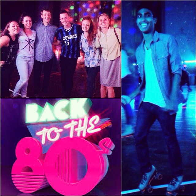 IEEC's roller disco event last night. Photo Cred: @dleethompson & @alvmyster #JoinTheFun #ieecsfsu #RollerDisco #backtothe80s