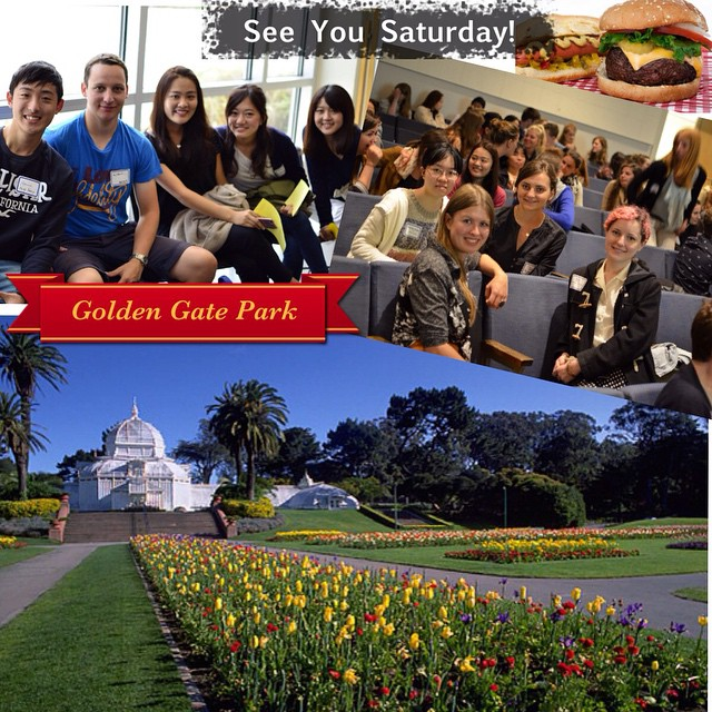 Join the IEEC today at 1PM in Golden Gate Park for the first, See You Saturday event!!! Come grub and mingle. Meet new friends from SFSU, both local and international students. #IEEC #IEECsfsu #SF #SFSU #SanFrancisco #GoldenGatePark #JoinTheFun  For more details visit: https://m.facebook.com/events/1488935578030107?acontext=%7B%22ref%22%3A2%2C%22ref_dashboard_filter%22%3A%22upcoming%22%7D&aref=2&arefdashboardfilter=upcoming&ref=bookmark